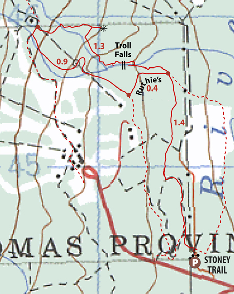 Marmot Creek Map