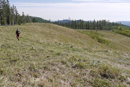 Scenic Long Prairie Ridge