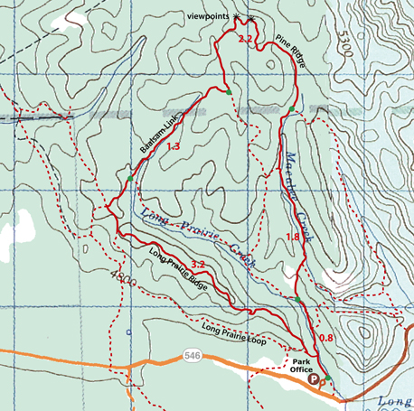 North Sandy McNabb trails