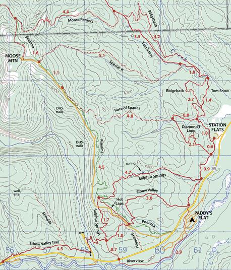 Moose Trails Map