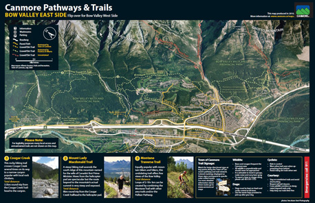 Canmore Trail Maps
