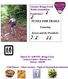 Bragg Creek Fundraiser Poster