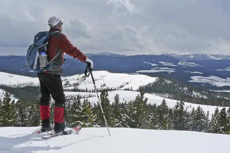 McLean Hill snowshoe