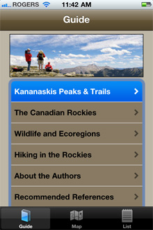 Home Page Kananaskis Trails Companion