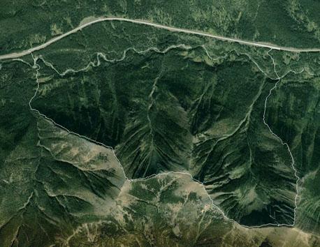 Odlum Ridge Google Earth