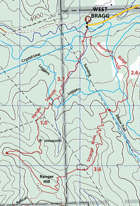 Ranger Hill map