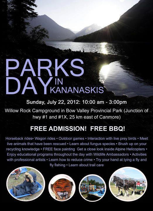 Parks Day in Kananaskis