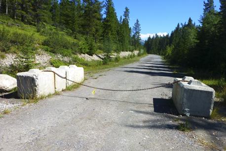Stewart Creek start