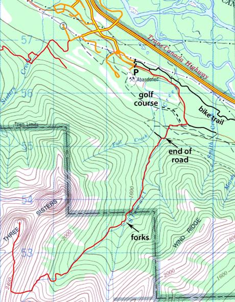 Stewart Creek map