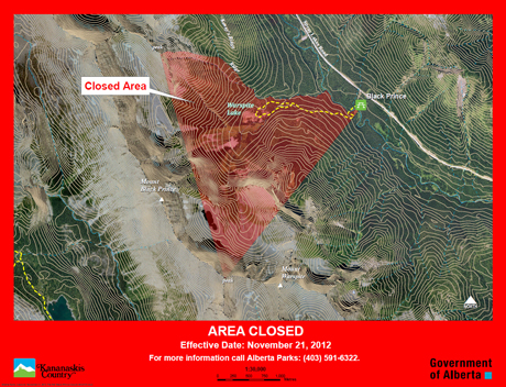 Area closure