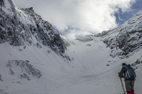 Rea Glacier Snowshoe
