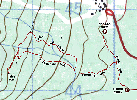 Mine Scar Map