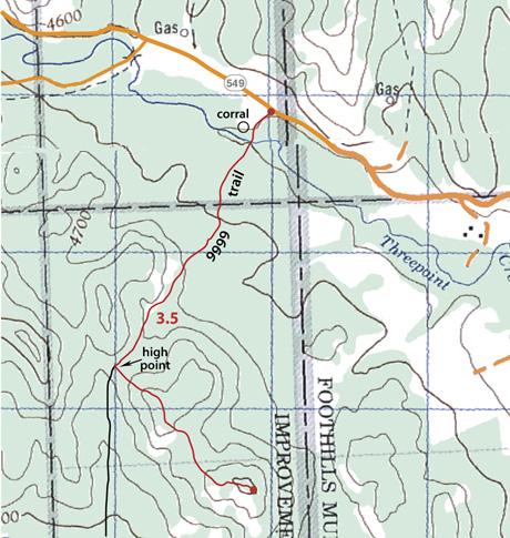 Sinnot Hill Snowshoe