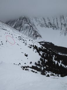Avalanche site