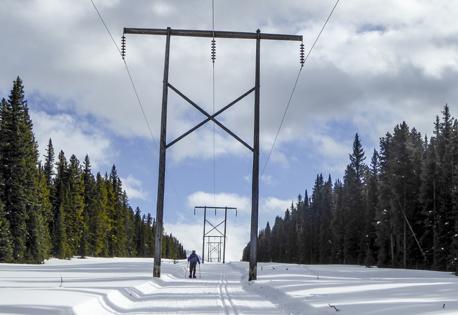 Elk Pass powerline