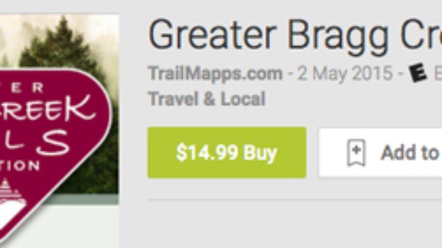 Bragg Map app