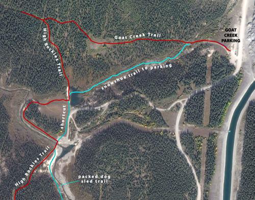 Goat Creek detail