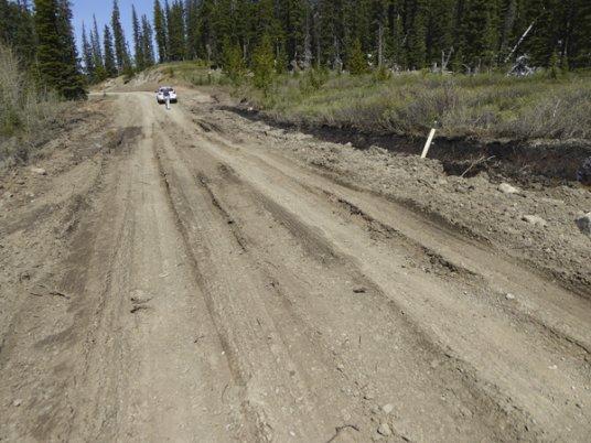 Powderface Road-mud