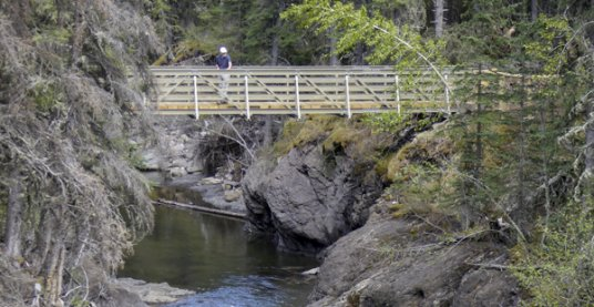 Bridge over Jumpingpound Creek