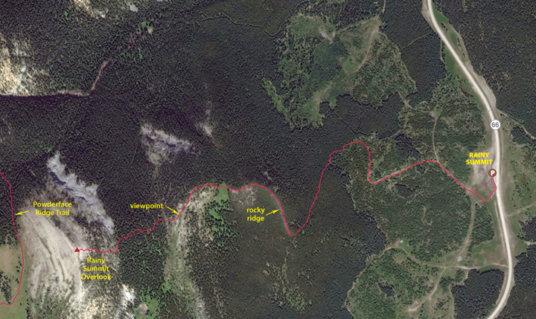 RSR map