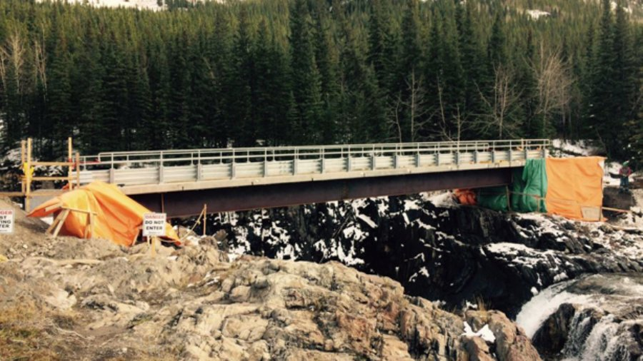 Tiger Jaws Falls Bridge Update