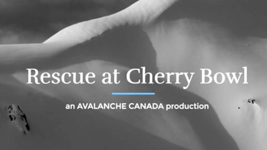 Rescue at cherry bowl