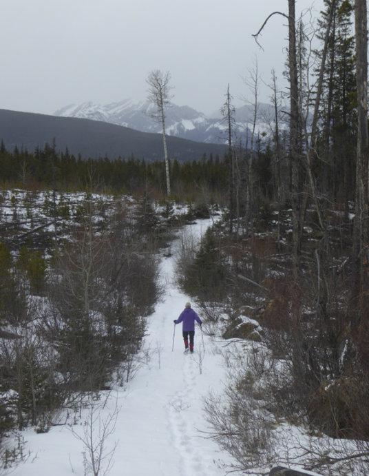 Lusk Pass trail