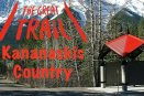 The Path of Great Trail through Kananaskis Country