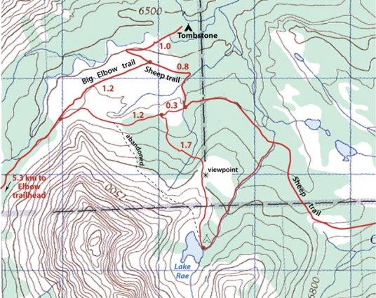 Lake Rea Map