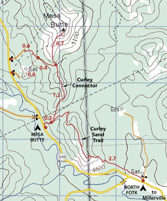 Mesa Butte Map