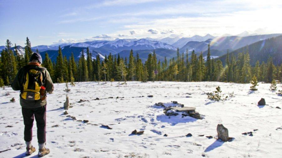 Winter Walk over Bens Hill