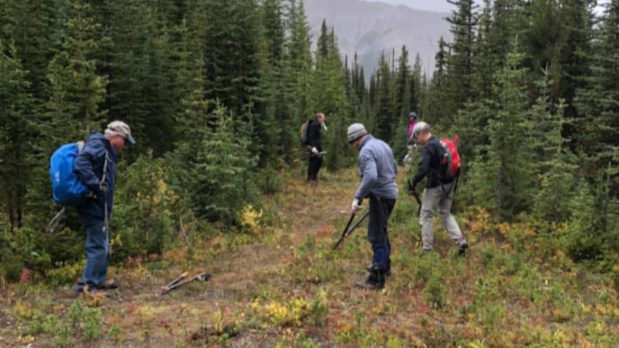 Trail Volunteers have been busy